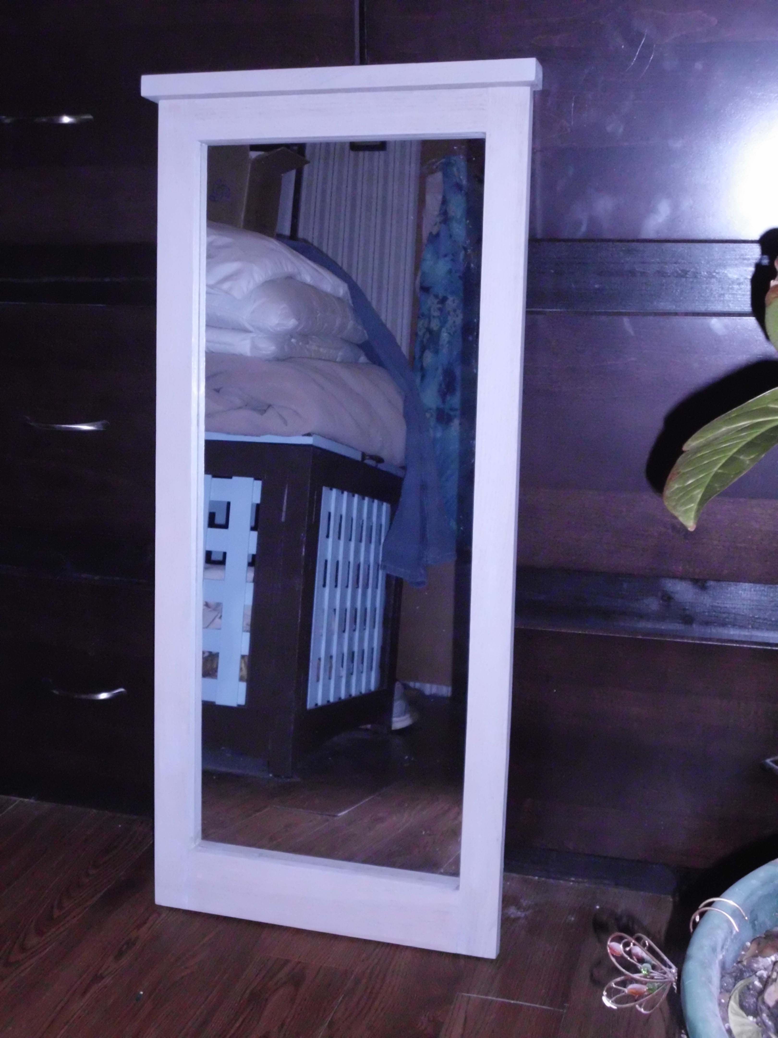 woodworking plans free standing mirror